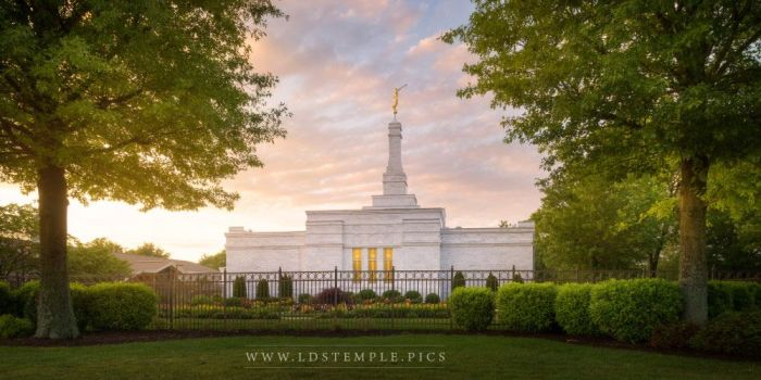 nashville-temple-sunset